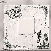 """Для дома и интерьера ручной работы. Ярмарка Мастеров - ручная работа Зеркало """"Mon charme"""". Handmade."""