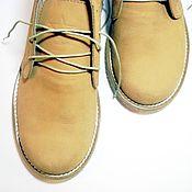 """Обувь ручной работы. Ярмарка Мастеров - ручная работа Мужские ботинки """"Африка"""". Handmade."""