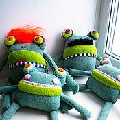 Куклы и игрушки ручной работы. Ярмарка Мастеров - ручная работа семейка Жабовских. Handmade.