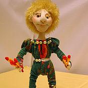 Куклы и пупсы ручной работы. Ярмарка Мастеров - ручная работа Жонглёр . Текстильная кукла. Handmade.