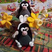 Мягкие игрушки ручной работы. Ярмарка Мастеров - ручная работа Игрушки: Весенние кроты. Handmade.