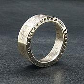 Украшения handmade. Livemaster - original item A ring from a coin 10 francs, France. Handmade.