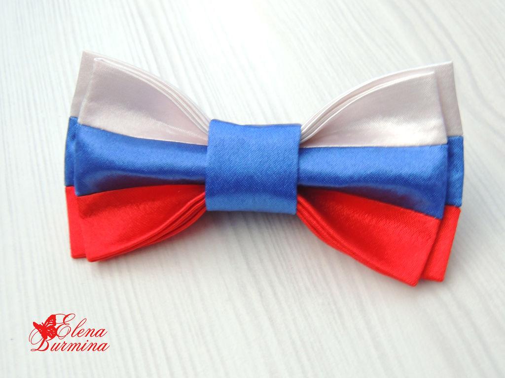 Бантик галстук для мальчика своими руками 65