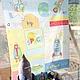 Шитье ручной работы. Ярмарка Мастеров - ручная работа. Купить 81 Хлопок  размер 106 -123 см. Handmade. Разноцветный