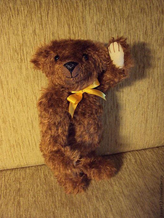 Мишки Тедди ручной работы. Ярмарка Мастеров - ручная работа. Купить Топтыжка. Handmade. Коричневый, хороший друг, Натуральный мохер