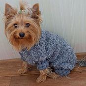 Для домашних животных, ручной работы. Ярмарка Мастеров - ручная работа одежда для собак.свитер для собаки,комбинезон для собак. Handmade.