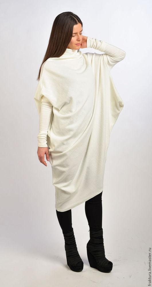 """Платья ручной работы. Ярмарка Мастеров - ручная работа. Купить Платье """"White Time"""" -  D0014. Handmade. Платье на каждый день"""