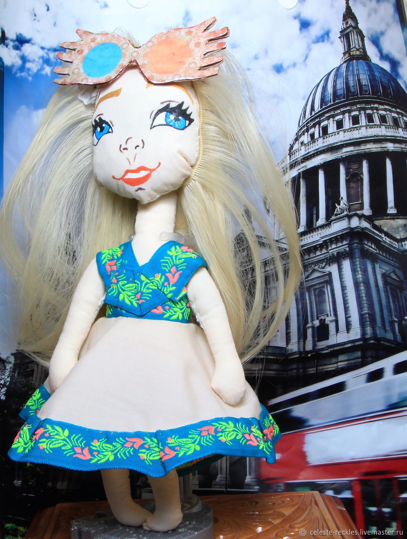 Коллекционные куклы ручной работы. Ярмарка Мастеров - ручная работа. Купить полумна лавгуд Гарри Поттер. Handmade. Оберег, луна