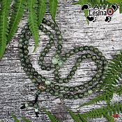 Фен-шуй и эзотерика handmade. Livemaster - original item Rosary beads made from natural serpentine and onyx, 108 grains, the node Mahakali. Handmade.