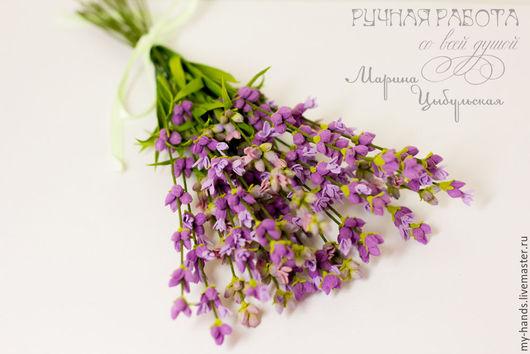 Лаванда из фоамирана, прованс, цветы прованса, цветы из фома, фоамиран, фом эва, интерьерные цветы, интерьер, цветы на свадьбу, букетик лаванды, лаванда для невесты, цветы на заказ, Марьяна Цыбульская