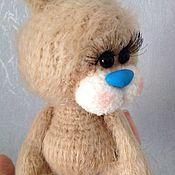 Куклы и игрушки ручной работы. Ярмарка Мастеров - ручная работа Зайка Голубой Носик. Handmade.