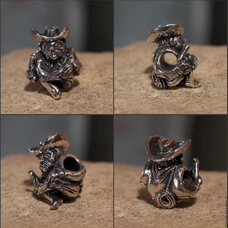 All for Jewelry Making handmade. Livemaster - handmade. Buy Cowboy charm.Charm, cowboy