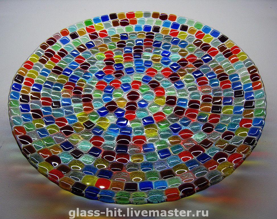 Поделки из цветных камней стеклянных