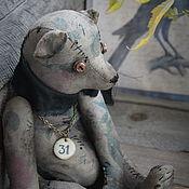 Куклы и игрушки handmade. Livemaster - original item Bear. Pink...deep down.. Handmade.