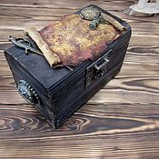 Для дома и интерьера handmade. Livemaster - original item The chest of the captain. Handmade.