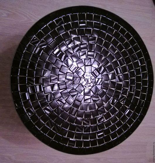 Мебель ручной работы. Ярмарка Мастеров - ручная работа. Купить Столик для кофе с мозаикой. Handmade. Черный, журнальный столик