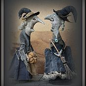 Куклы и игрушки handmade. Livemaster - original item Witches Mrs. Dorothy backer and Mrs. Olivia Berrington Price per 1 PC. Handmade.