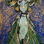 Картины и панно ручной работы. Ярмарка Мастеров - ручная работа Goddess oh Herbs. Handmade.