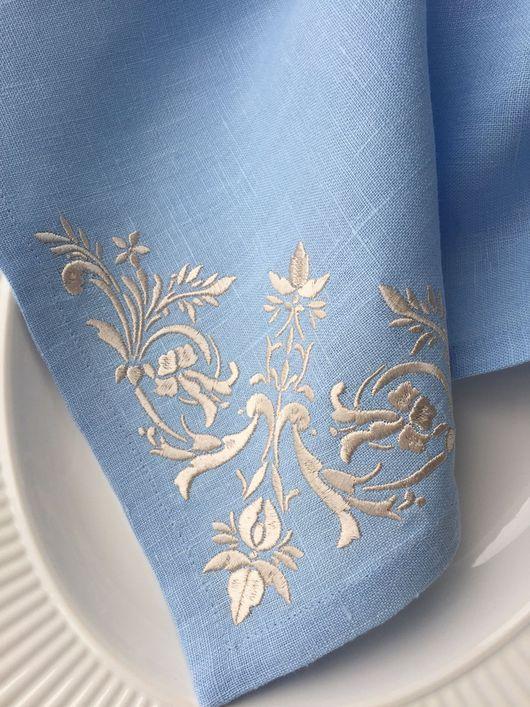 Салфетка с вышивкой  `Шарлотта` `Шпулькин дом` мастерская вышивки
