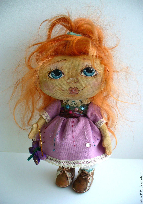 """Коллекционные куклы ручной работы. Ярмарка Мастеров - ручная работа. Купить Текстильная кукла """"Стрекоза"""". Handmade. Коллекционная кукла"""
