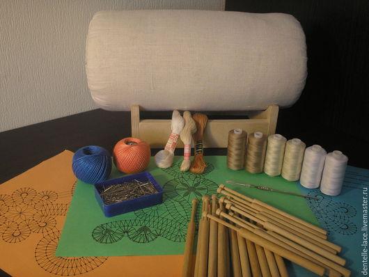 Другие виды рукоделия ручной работы. Ярмарка Мастеров - ручная работа. Купить Стартовый набор для начинающих кружевниц. Handmade. Коклюшки