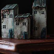 Кукольные домики ручной работы. Ярмарка Мастеров - ручная работа Деревянные интерьерные домики. Handmade.