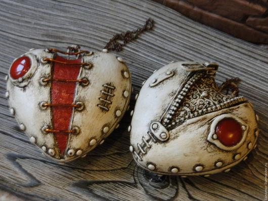 Подвески ручной работы. Ярмарка Мастеров - ручная работа. Купить Сердце не камень.... Handmade. Комбинированный, оригинальные подарки, стимпанк