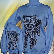 Одежда ручной работы. Ярмарка Мастеров - ручная работа Тату-свитера - Йоркширский терьер (семейный). Handmade.