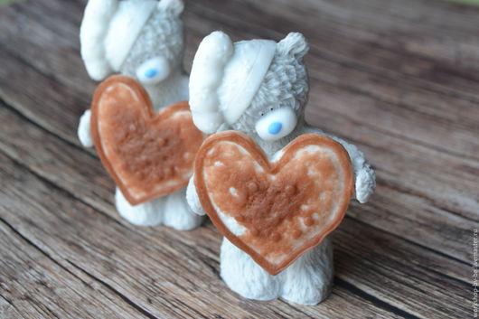 Мыло ручной работы. Ярмарка Мастеров - ручная работа. Купить Мишка Тедди Повар с печеньем. Handmade. Бежевый, повар