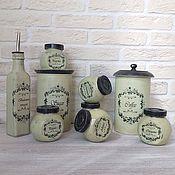 Посуда handmade. Livemaster - original item Spice Jars, Set of Jars, Gift, Storage Containers. Handmade.