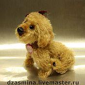 Куклы и игрушки ручной работы. Ярмарка Мастеров - ручная работа Собачка Lazy Dazy. Handmade.
