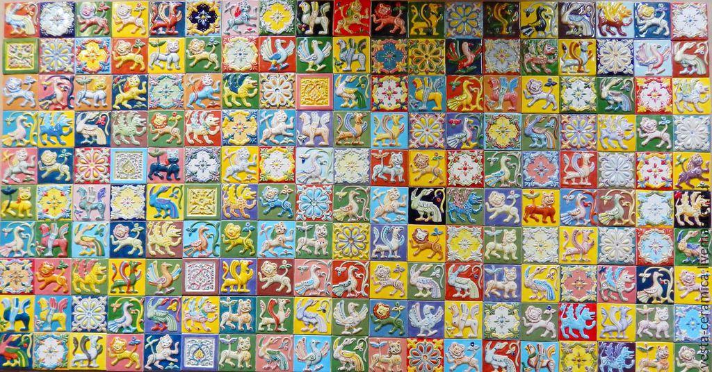 Suzdal handmade tiles, Tile, Moscow,  Фото №1