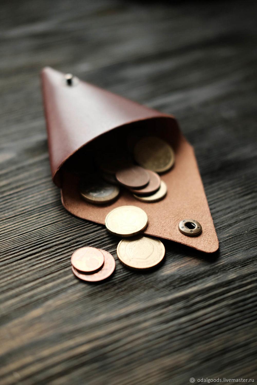 Монетница tri-Pocket — Каштан, Монетницы, Санкт-Петербург,  Фото №1