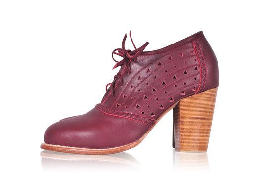 Обувь ручной работы. Ярмарка Мастеров - ручная работа. Купить Breeze . Туфли для весны и осени, оксфорды . (6). Handmade. Коричневый