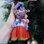 Куклы и игрушки ручной работы. Ярмарка Мастеров - ручная работа Сиреневые зайцы. Handmade.