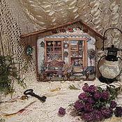 """Для дома и интерьера ручной работы. Ярмарка Мастеров - ручная работа ключница """"дачный домик"""". Handmade."""