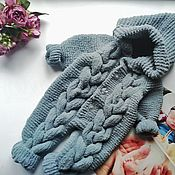 Одежда детская handmade. Livemaster - original item Knitted jumpsuit for baby
