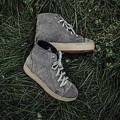 Обувь ручной работы. Ярмарка Мастеров - ручная работа Кеды  Trend. Handmade.