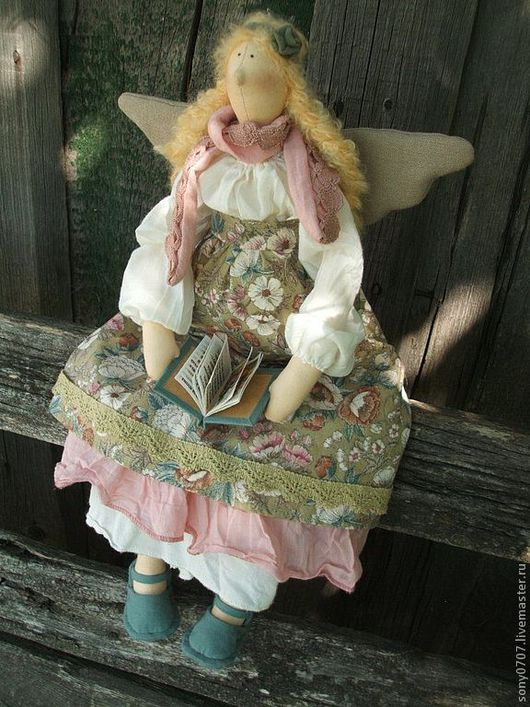 Куклы Тильды ручной работы. Ярмарка Мастеров - ручная работа. Купить Олеся. Handmade. Бохо, эксклюзивный подарок, текстильная кукла