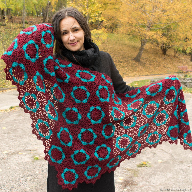 Nymphadora shawl crocheted, Shawls, Kiev,  Фото №1