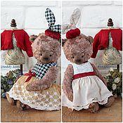 Куклы и игрушки ручной работы. Ярмарка Мастеров - ручная работа Мишка тедди Алиса. Handmade.