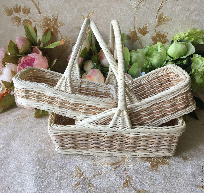 Купить плетеную корзинку для косметики все духи avon