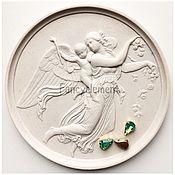 Материалы для творчества ручной работы. Ярмарка Мастеров - ручная работа Кристаллы Капли в цапах 8х13 мм зеленые опаловые. Handmade.