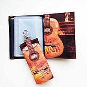 Канцелярские товары handmade. Livemaster - original item Kit (cover for documents and housekeeper)