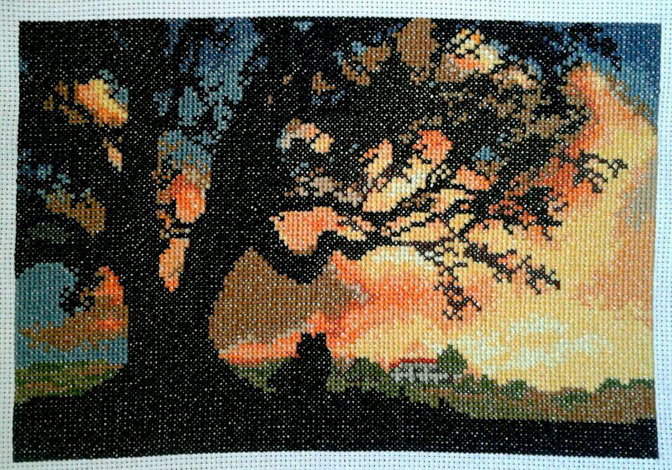 Свидание на закате, Картины, Одинцово,  Фото №1