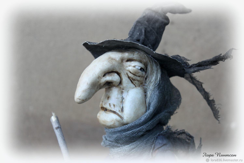 Ведьма Миссис  Amanda Davies, Чердачная кукла, Волжский,  Фото №1