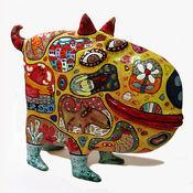 Для дома и интерьера ручной работы. Ярмарка Мастеров - ручная работа Собака Балобака. Handmade.