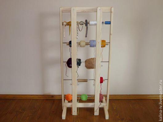 Другие виды рукоделия ручной работы. Ярмарка Мастеров - ручная работа. Купить подставка для ниток (средняя). Handmade. Бежевый