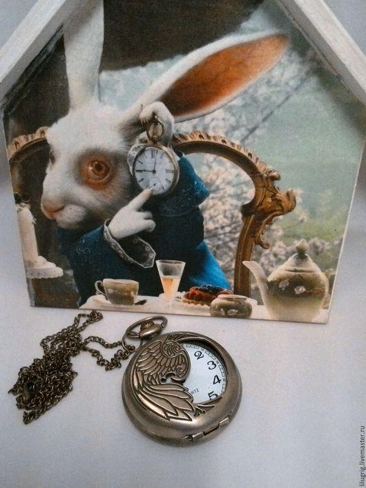 """Часы ручной работы. Ярмарка Мастеров - ручная работа. Купить Часы карманные """"Феникс"""". Handmade. Часы, винтаж, классика"""