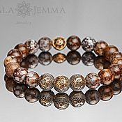 handmade. Livemaster - original item men`s opal bracelet men`s stone bracelet. Handmade.